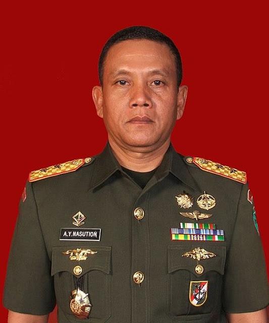Sosok Letjen (Purn) AY Nasution yang Minta Patung Soeharto dkk Dibongkar