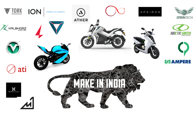 Top Electric Vehicle Startups in India