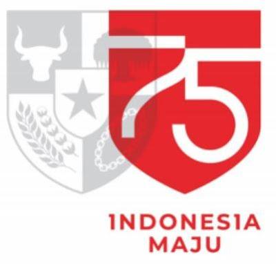 makna logo 75 tahun indonesia