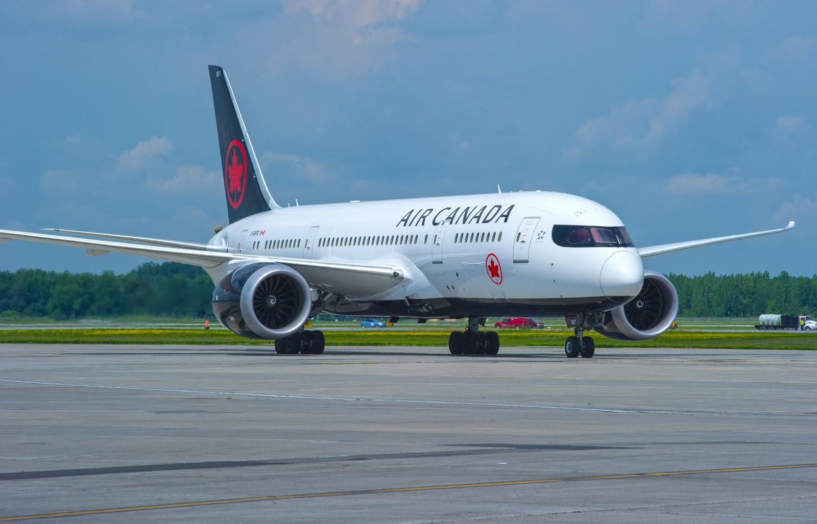 AIR CANADA BOEING 787 DREAMLINER OTTAWA-LONDRES 2