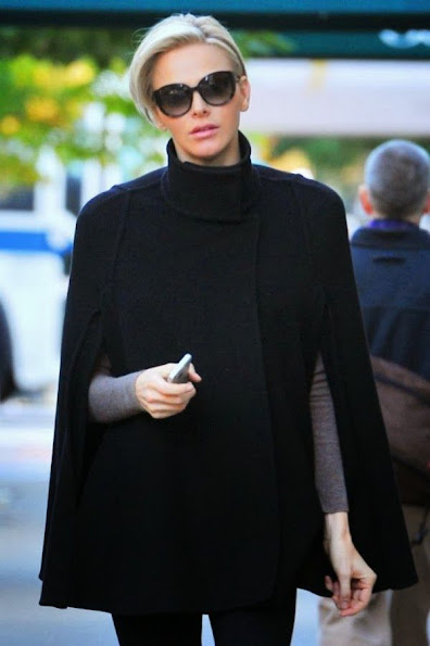 Princess Charlene in New York City