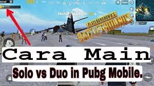 Cara Main Solo vs Squad PUBG 1