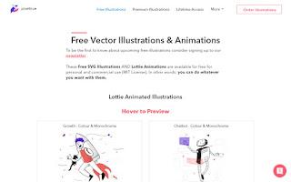 hermosas ilustraciones vectoriales SVG