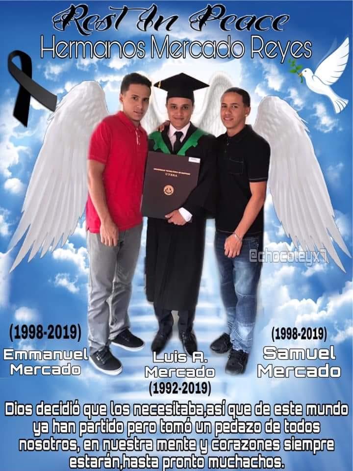 Familiares y Navarrete dan último adiós a los tres hermanos que murieron en accidente