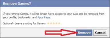 remove facebook app from android