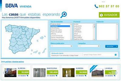 Oferta online de viviendas e inmuebles en BBVA Vivienda