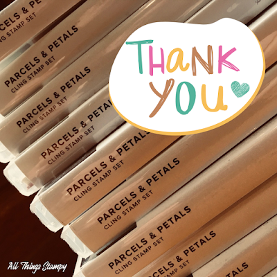 Thank you gift host code All Things Stampy Stampin Up
