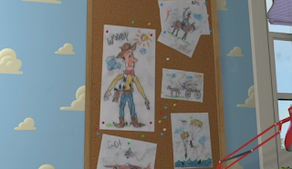 Dan The Pixar Fan Toy Story Andy S Drawings Amp More Part 1