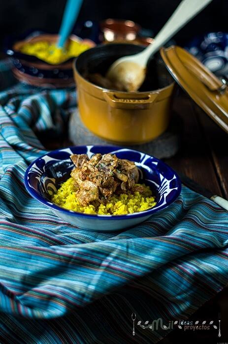 receta de seco de pollo
