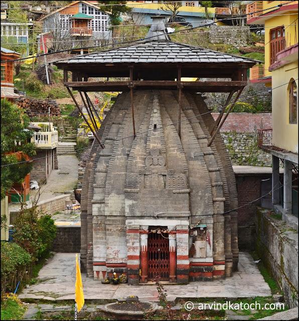 temple, vishnu, naggar,