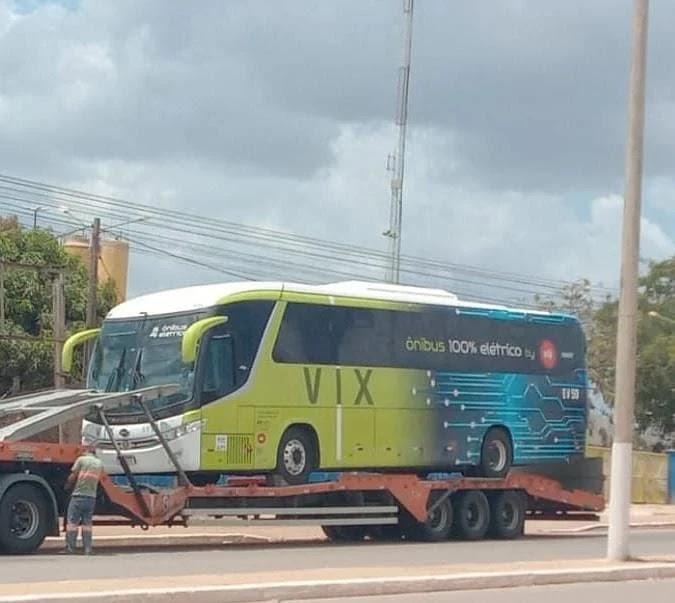 VIX Logística irá iniciar operação com ônibus elétrico em Parauapebas.