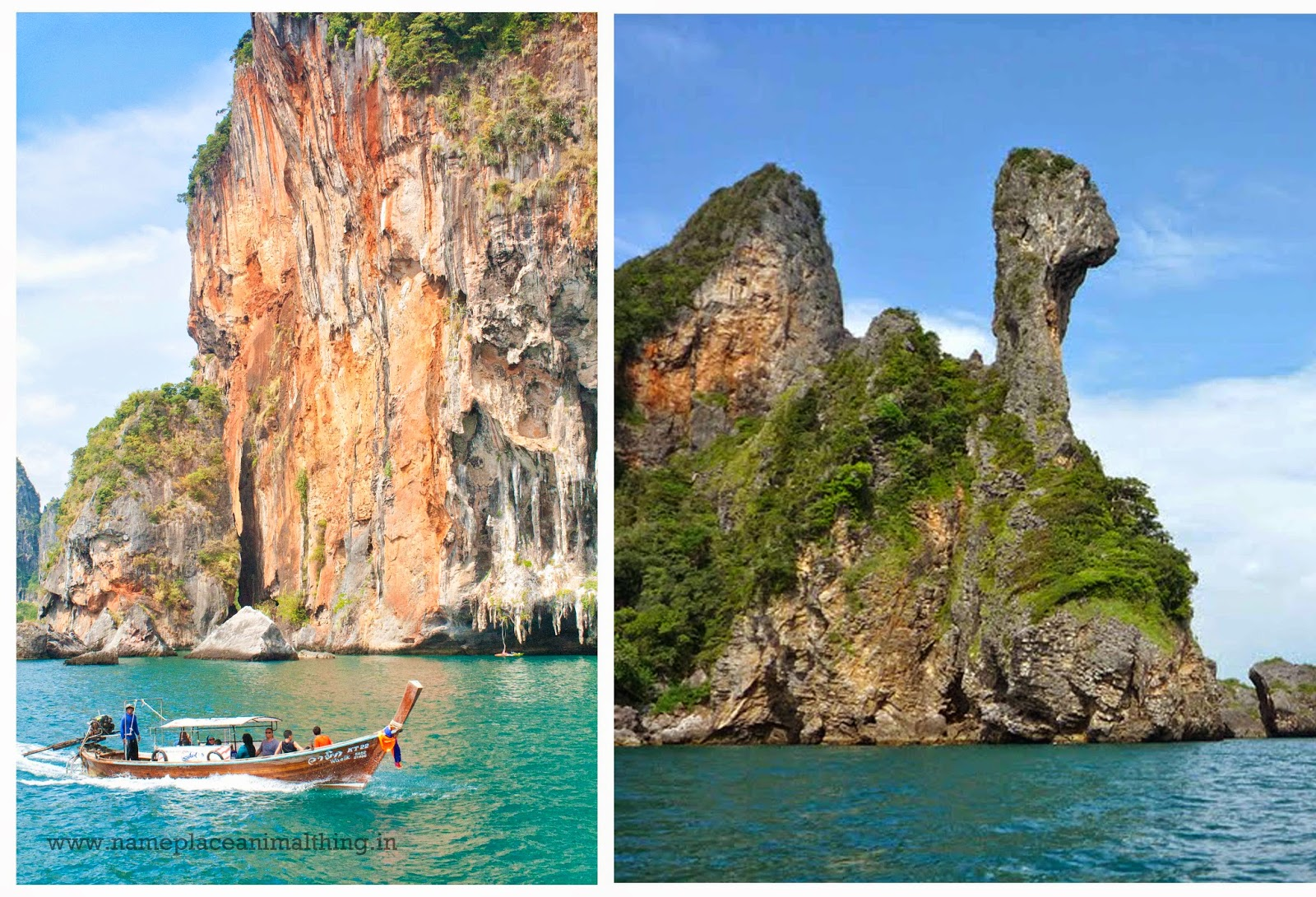 Railay and chicken Island krabi