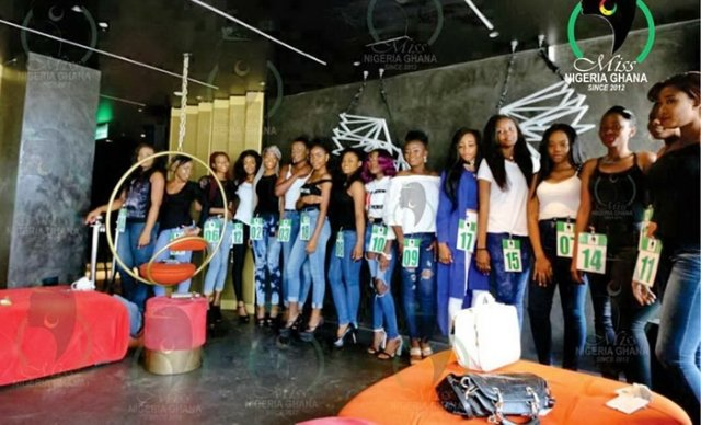 First Round Of Audition Kickstarts Search For Miss Nigeria Ghana