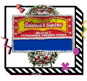 Toko Bunga Papan di Rawalumbu ✔️