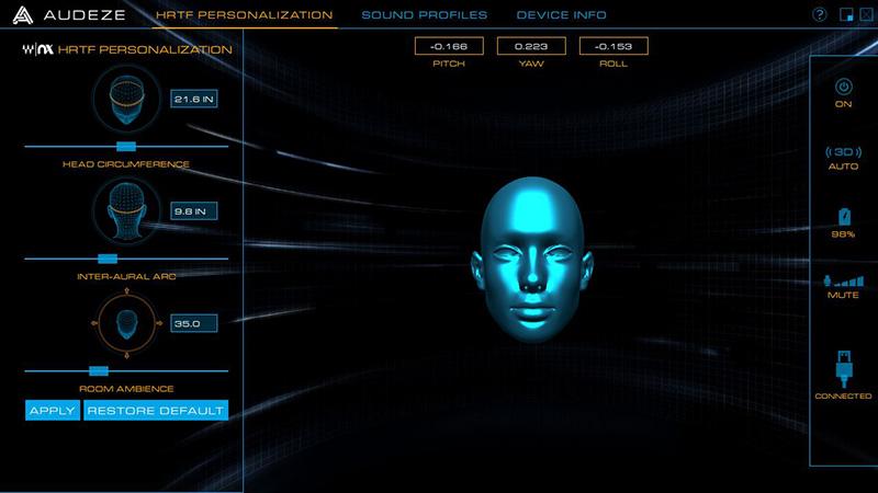 3D Surround Sound: Audeze