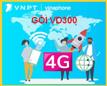 gói cước VD300 Vinaphone