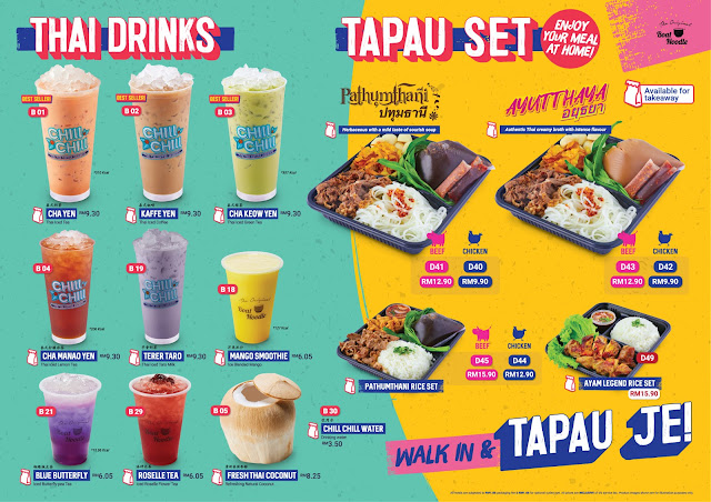 Boat Noodle Introduces 'Tapau Je', An Initiative To Encourage F&B Delivery and Take-Away