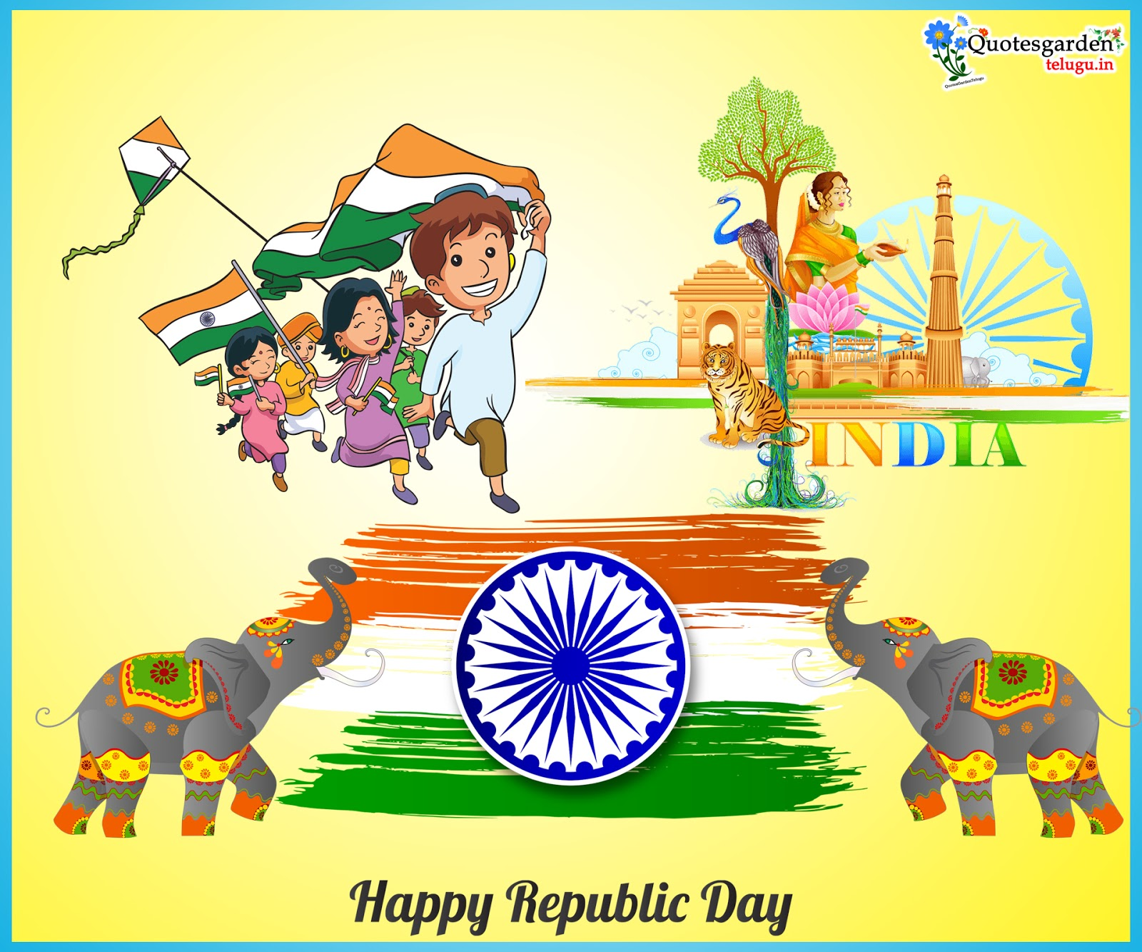 happy republic day greetings wishes images wallpapers 2020