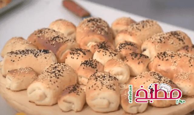 طريقة عمل الباتيه بالجبنه فاطمة ابو حاتي