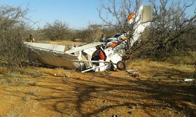 Two Tourists Die In Samburu Plane Crash!