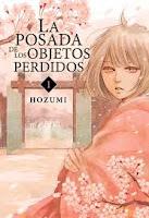 "Portada del cómic ""La posada de los objetos perdidos"", de Hozumi"
