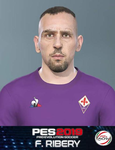 PES 2019 Ribery Face By Sofyan Andri