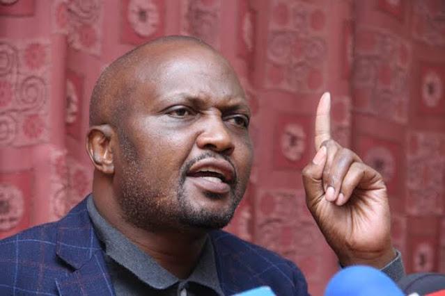 Gatundu South MP Moses Kuria photo