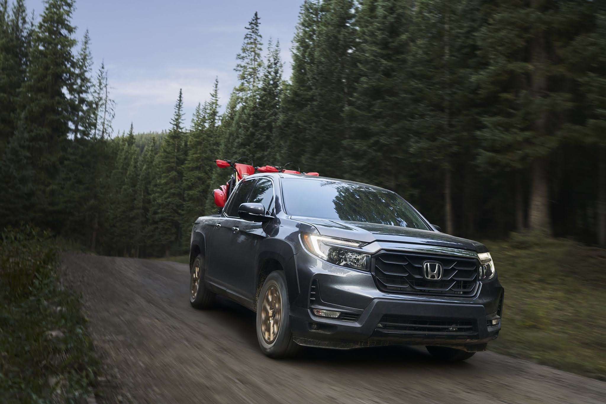 2021 Honda Ridgeline Arriving Next Month Ready to Rumble with Rugged New Look
