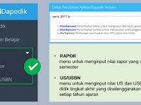 Panduan cara membuat akun PTK untuk Pengisian Raport pada Aplikasi Dapodik