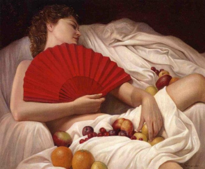 Современные художники Испании. Soledad Fernandez 6