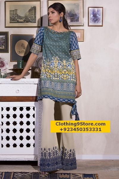 Khaadi Mid summer two piece lawn collection