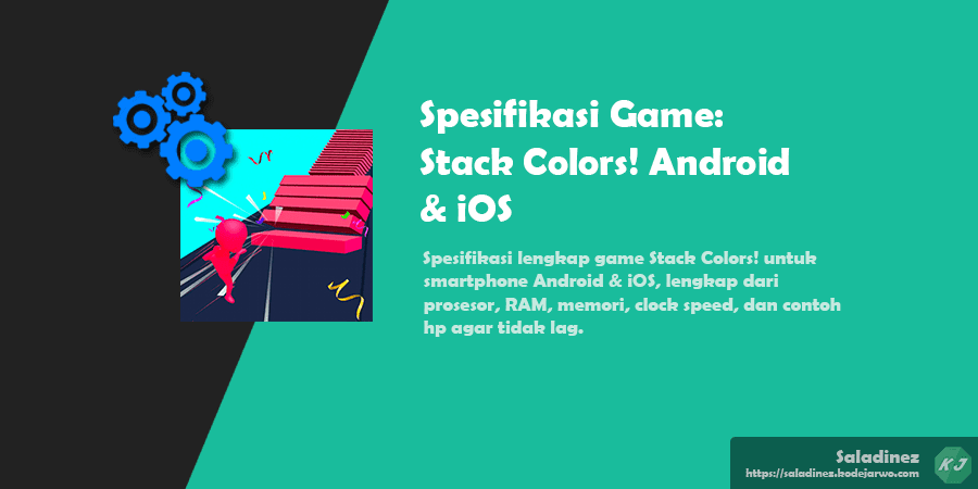 Spesifikasi Game: Stack Colors! Android & iOS