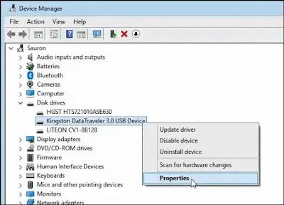 كيف أعرف أنني أستخدم الإزالة السريعة عند إخراج محرك أقراص USB ؟