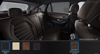 Nội thất Mercedes GLC 250 4MATIC 2016 màu Nâu Espresso 224