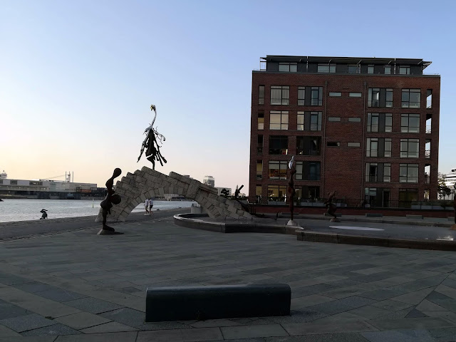 Kopenhaga - rzeźby