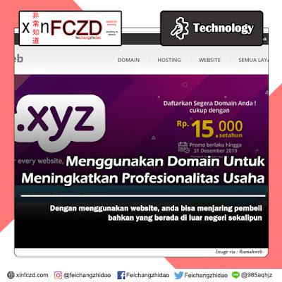 Menggunakan Domain Untuk Meningkatkan Profesionalitas Usaha