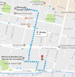Museo Cuyano e Barrio Civico (Google Maps)