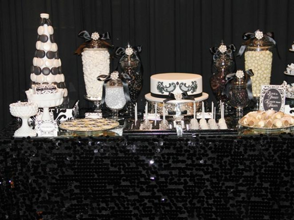 Tbdress Blog Black And White Wedding Theme Ideas Simple
