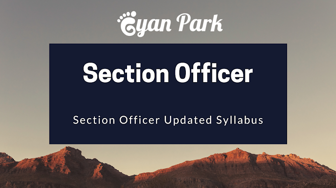 Section Officer Syllabus