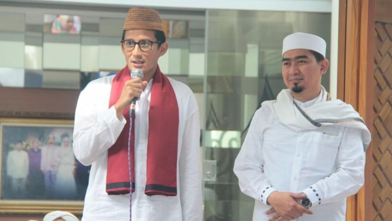 Sandiaga Uno dan Soleh Mahmud