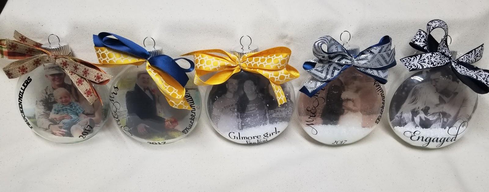 Making Christmas Ornaments Cricut Project