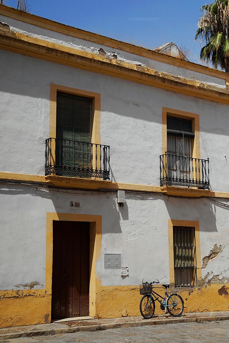 Old town of Seville, Spain, in summer // Altstadt Sevilla, Spanien, im Sommer