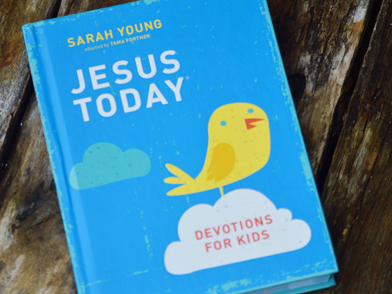 Jesus Today: Devotions for Kids {A Review & Giveaway} #JesusTodayKids #FlyBy