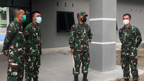 Pangdam I/BB Tinjau Barak Transito, Cek Kesiapan Isolasi Terpusat Pasien Covid-19
