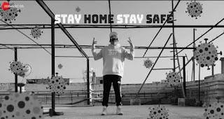 स्टे होम स्टे सेफ Stay Home Stay Safe Lyrics in Hindi - Ace aka Mumbai