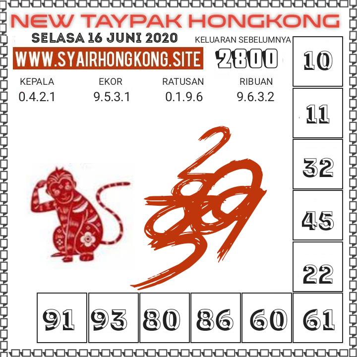 Prediksi Syair HK 16 Juni 2020