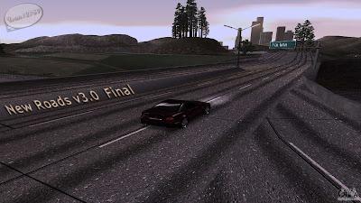 GTA San Andreas New Roads v30 Final Mod Free Download