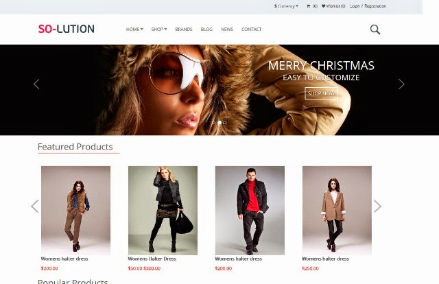 Solution – Creative OpenCart Template