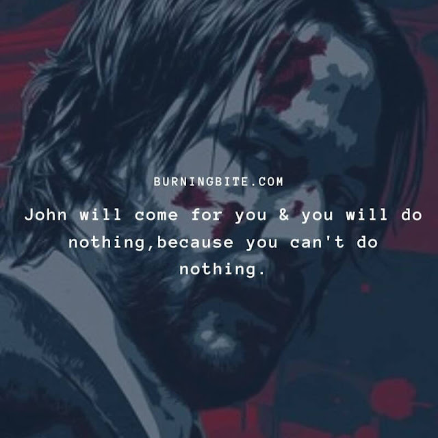 John will come for you & you will do nothing,because you can't do nothing. ~Viggo