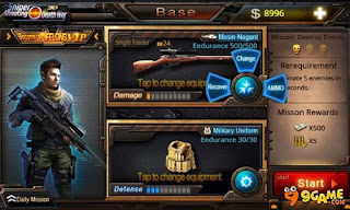Download Gratis 3D Sniper Shooting Death War Mod Apk Terbaru 2016